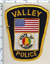 Valley Police (Alabama) Shoulder Patch - uniform take-off from 1989