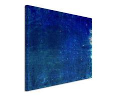 120x80cm Quadro su tel su cornice Astratto blu