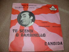 """BENIAMINO MAGGIO """" CANDIDA - TU SCENDI O BAMBINELLO """"  ITALY'6?"""