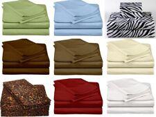 """Top Quality Bedding Set 100% Egyptian Cotton 800-TC Euro King IKEA Size 39"""" Deep"""