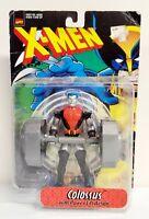 """Vintage 1998 Toybiz Marvel X-Men Colossus 5"""" Action Figure Black Suit Variant"""