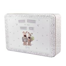 Boofle Wedding Day Keepsake Memory Tin Special Moment Memories Metal Box Gift