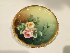 "Vintage RC Rosenthal Claire Bavaria Handpainted 6"" Plate, B0260037"
