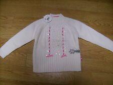 Maglione bambina BARBIE Natale paillettes panna 3 - 4   anni