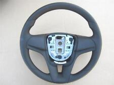 OEM 2012-2016 Chevy Cruze Steering Wheel Black Vinyl Without Controls Plain Bare