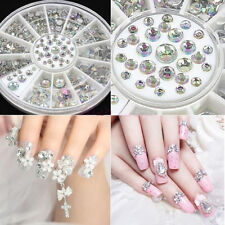 3d Shiny Crystal Rhinestone Different Sizes Decoration for Nail Art Cell Phone