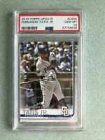 2019 Topps Update PSA 10 Fernando Tatis Jr. Rookie Card #US56 Padres RC