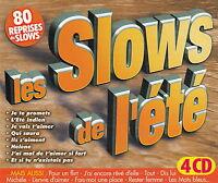 Compilation 4xCD Les Slows Les Plus Love! - France (EX/EX)