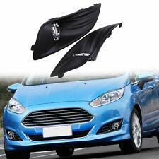 Pair for Ford Fiesta 2014-2016 Front Bumper Fog Lamp Light Grilles Cover Bezel