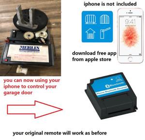 merlin garage door 1/3 H.P model 4000 roller door iphone receiver control kit