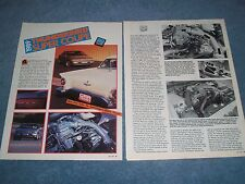 1989 Ford Thunderbird Super Coupe Vintage Road Test Info Article