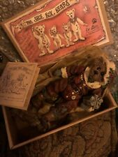 "Boyds Bears Shoe Box Bears Nicholas ""Uncle Nick"" Grizberg W/ Certificate & Box"