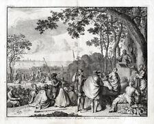 Antique Print-EIGHTY YEARS WAR-REFORMED PREACHERS-ANTWERP-BELGIUM-Le Clerc-1730