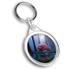 Llavero Círculo Mágico Rosa árbol Bosque #45649