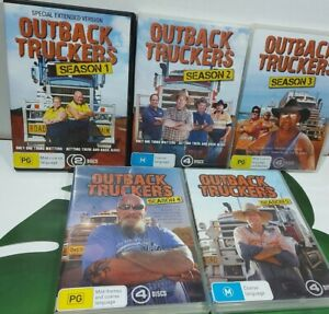 OUTBACK TRUCKERS.  Season 1,2,3,4 and 5 (missing 1 disc)