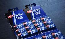 SALE! 100 blades of Polsilver Super Iridium DE Razor Blades | FAST,FREE SHIPPING