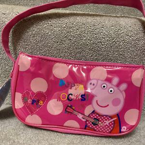 Peppa Pig Girls Pink Handbag Peppa Rocks!