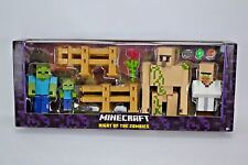 Mojang Minecraft Survival Mode Night of the Zombies Action Figure Play Set Iron