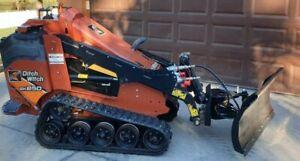 "48"" Toro Dingo Mini Skid Steer Hydraulic 4 Way Dozer Blade Dirt Pusher Snow Plow"