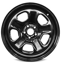 New 18x8 Inch 5 Lug Ford Taurus (13-17) Explorer (13-17) Black Steel Wheel Rim