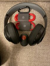 Used Beats by Dr. Dre Studio 2.0 Wireless Headphones - (Black/Red) Free Shipping