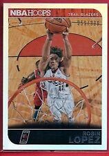 Robin Lopez Silver Ref /399  2014-15 Hoops 102 Stanford - Chicago Bulls