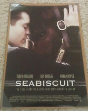 SEABISCUIT MOVIE POSTER 2 Sided ORIGINAL INTL 27x40 TOBEY MAGUIRE