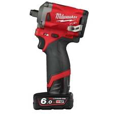 Milwaukee M 12 FIWF 12-622X 12 V sans fil clé a choc 1/2 Kit 2 batteries chargeu...