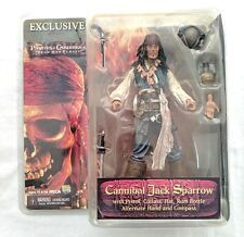 Neca Pirates of the Caribbean Jack Sparrow Exclusive SDCC Figure Dead Mans Chest