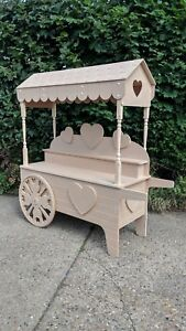 New Heart Theme Sweet Cart / Candy Cart / Wedding Cart / Candyfloss & Popcorn