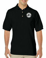 Heckler Koch No Compromise White Logo Polo Shirt Golf Gun Rights Rifle Pistol