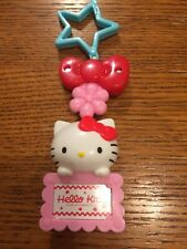 Hello Kitty 2018 Clip On Backpack Name Tag Holder Belt Loop Clip On
