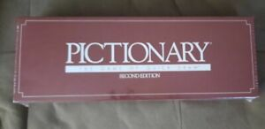 Pictionary Second Edition Box Opened Cards Still Sealed Never Played Read