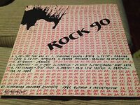 "V/A ROCK 90 12"" LP SLOVAK SAMPLER PUNK HEAVY METAL WAVE PRESSBURG EX TIP ZAI"
