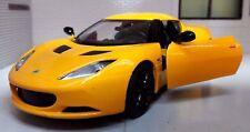 G LGB 1:24 Scale Lotus Evora S V6 Solar Yellow Motormax Diecast Model Car 79313