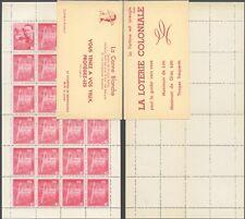 Belgium 1950 - Blind Dog Booklet - MNH Stamps D759