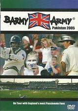 BARMY ARMY PAKISTAN 2005 DVD ENGLAND'S PASSIONATE CRICKET FANS