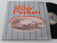 RILEY PUCKETT VG++ Waitin' For The Evening Mail Country 411 bluegrass album