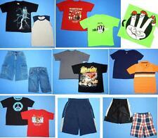 NICE Lot 15pc boys Spring Summer clothing~Sz 8, 10-12~Shorts Tops FAST SHIP~S73