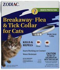 Zodiac Breakaway Flea & Tick Cat Collar   Kills & Repels Bugs   Water Resistant