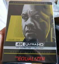 The Equalizer Czech Filmarena 4K UHD +2D Blu-ray Steelbook New/Sealed