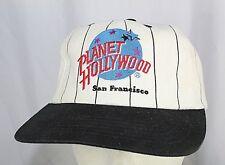 Planet Hollywood San Francisco Black/White Baseball Cap Snapback
