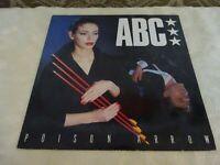 "ABC Poison Arrow 12"" Original Single Record Vinyl NTX102"