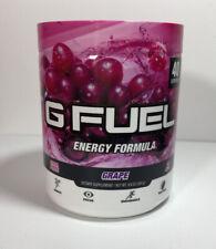 G Fuel Energy Formula Grape Dietary Supplement 9.8oz 40Serving +FreeShip