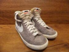 Nike  Blazer Grey Suede  Hi Top Trainers Size UK 4 EUR 36.5