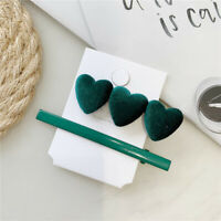 Women Heart Hair Clip Barrette Love Hairpin Stick Bobby Fashion Hair Accessories