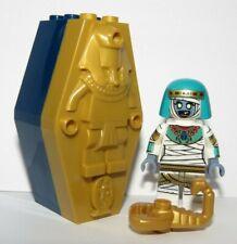 LEGO Pharaoh Sarcophagus Coffin Tomb Mummy Queen Minifigure & Scorpion Halloween