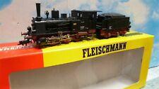Fleischmann  :  loco vapeur patinée ech ho........ ref : 4115