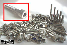 Stainless Allen Bolts (Socket Caps) M5, M6, M8 CAGIVA MITO 125 RAPTOR PLANET