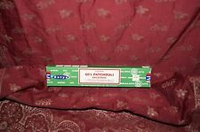 NEW SATYA 60's PATCHOULI Nag Champa Incense one box 15g *Free Shipping* Newest!